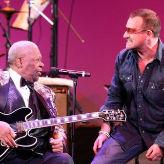 U2 and BB King
