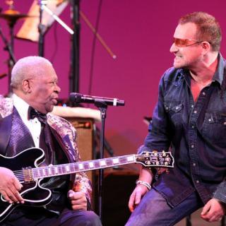 U2 and BB King