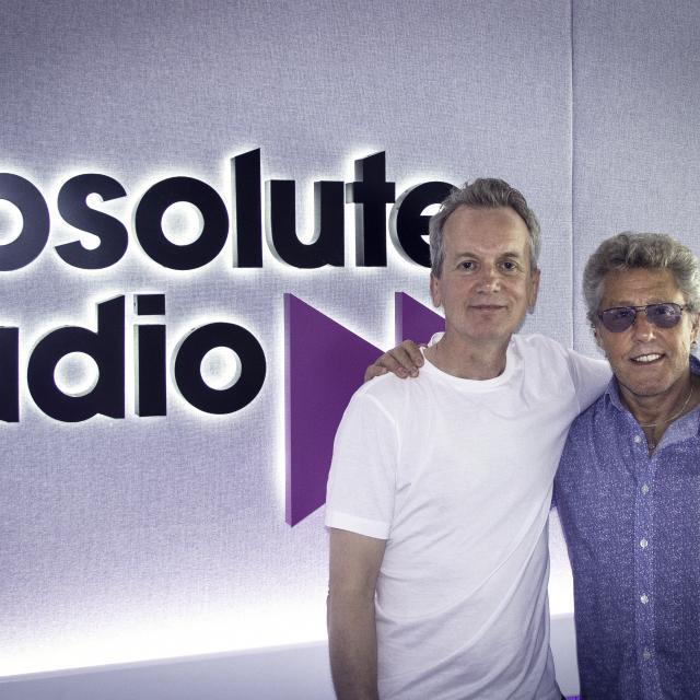 Frank Skinner with Roger Daltrey