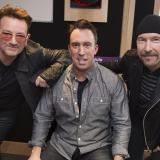 Christian O'Connell with U2
