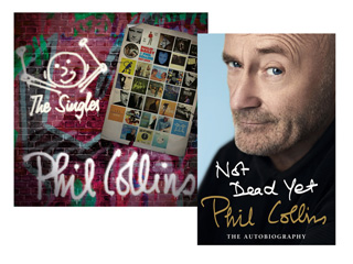 Win Phil Collins Autobiography and Singles Collection