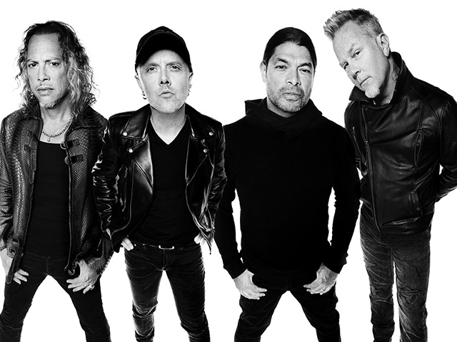 Win tickets to see Metallica live