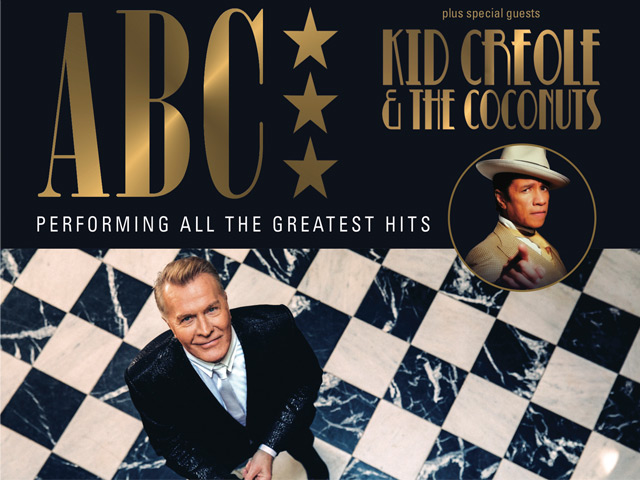 Win tickets to see ABC and Kid Creole & The Coconuts