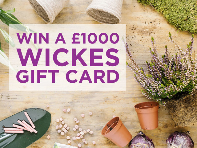 Win a £1,000 Gift Card with Wickes
