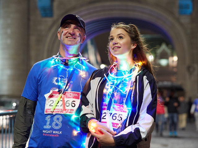 Win a £500 Fitness Pack with Shine Night Walk London