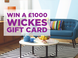 Win a £1000 Wickes Gift Card with the Dave Berry Breakfast Show