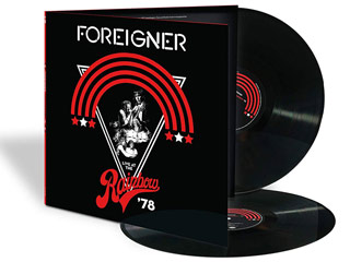 Win Foreigner Live At The Rainbow '78