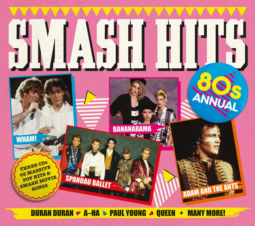 Win a copy of Smash Hits 80s Annual
