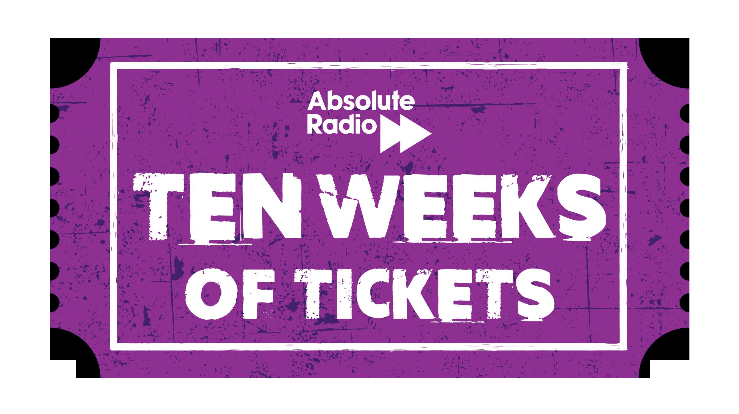 Ten Weeks Of Tickets logo