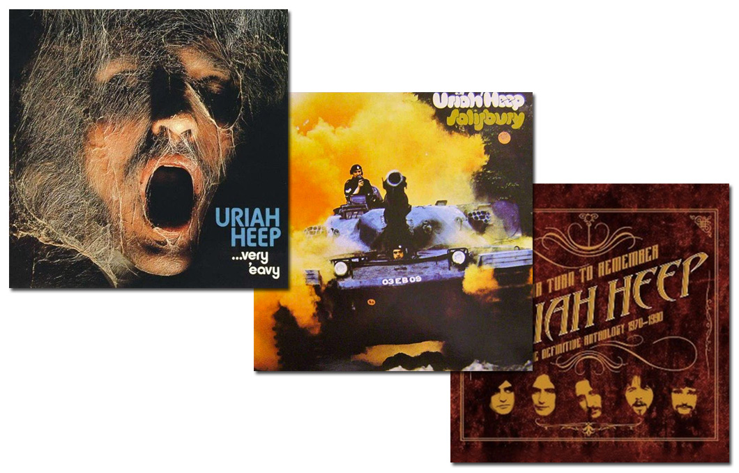 Uriah Heep Album Collection