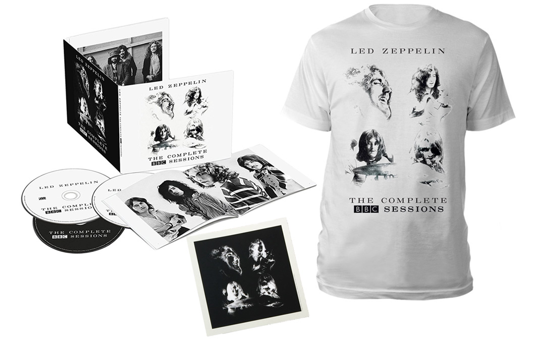 Win Led Zeppelin 'The Complete BBC Sessions' bundle