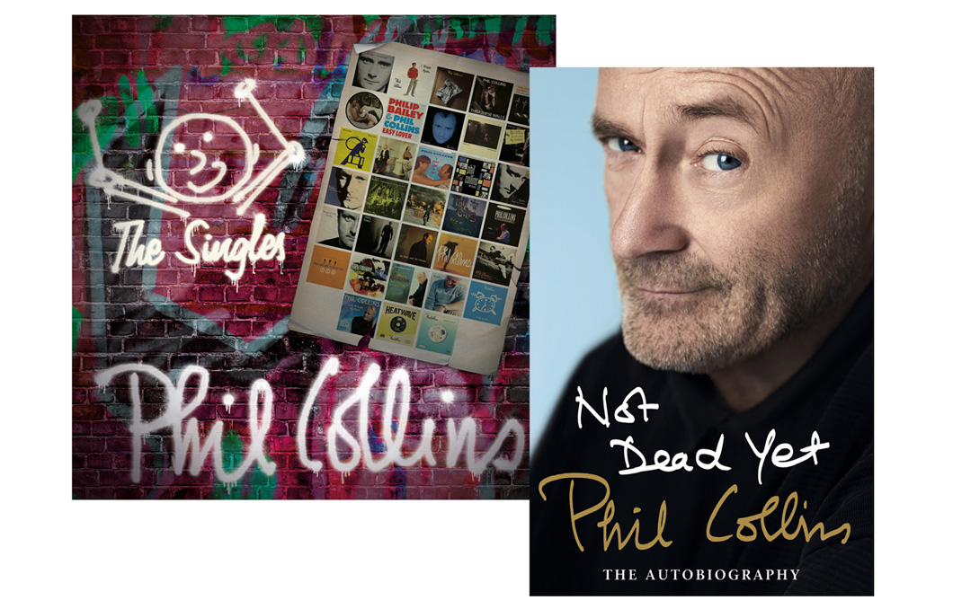 Phil Collins - Singles Collection and Autobiography