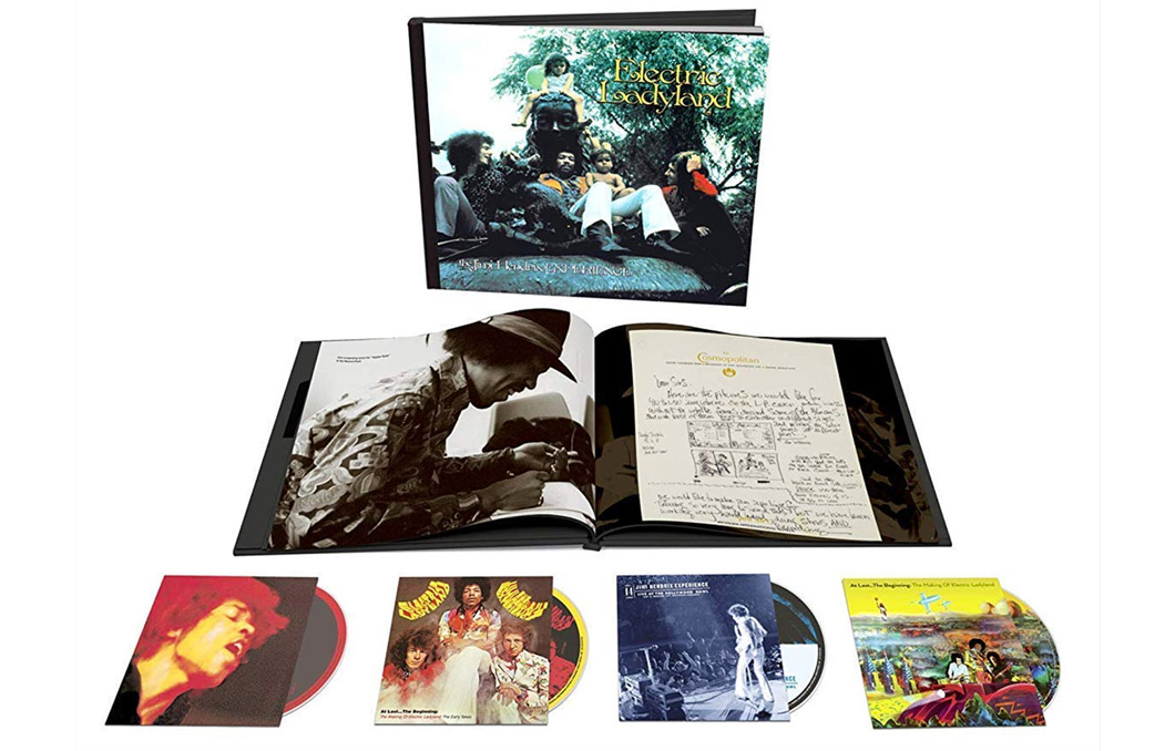 Jimi Hendrix 'Electric Ladyland' Deluxe Edition 50th Anniversary Box Set