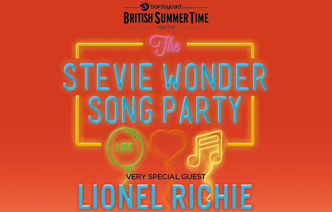 Stevie Wonder and Lionel Richie poster